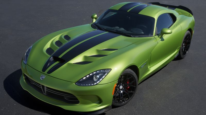 Dodge Viper GTS R, Commemorative Edition ACR, Green, Speed (horizontal) ...