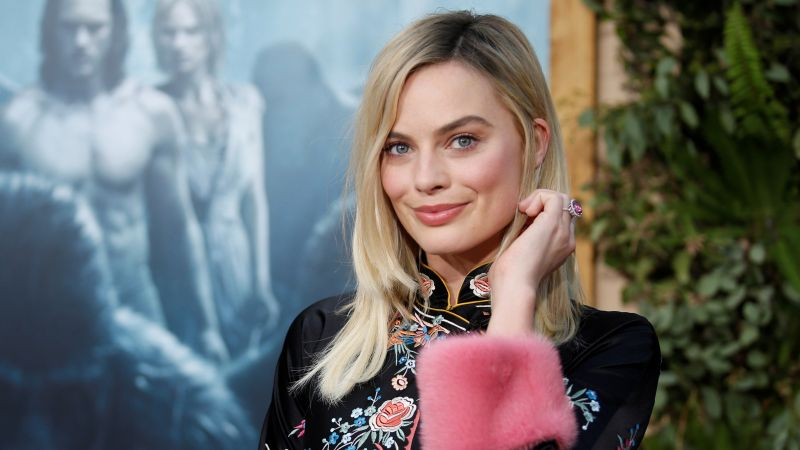 Margot Robbie, Most popular celebs, actress (horizontal)