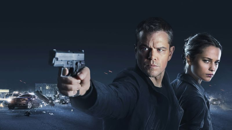 Jason Bourne, Bourne 5, Matt Damon, Alicia Vikander, best movies (horizontal)