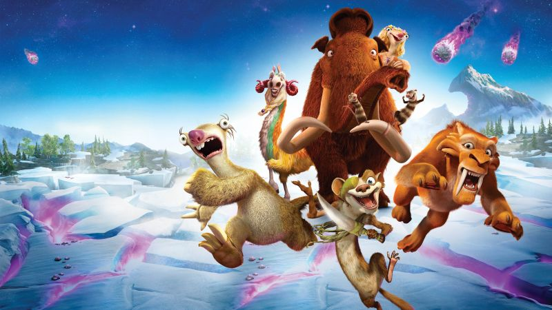 Ice Age 5: Collision Course, sid, mammoths, best animations of 2016