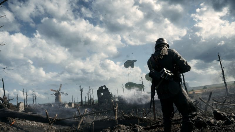 Battlefield 1, soldier, best games of 2016, shooter (horizontal)