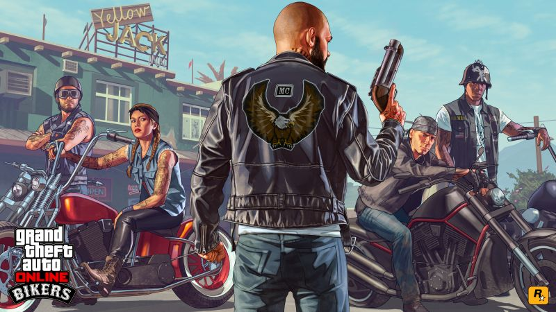 GTA Online: Bikers, gta, gta 5, best games