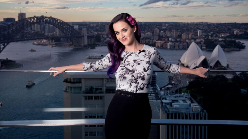 Katy Perry, Top music artist and bands, singer, actress (horizontal)