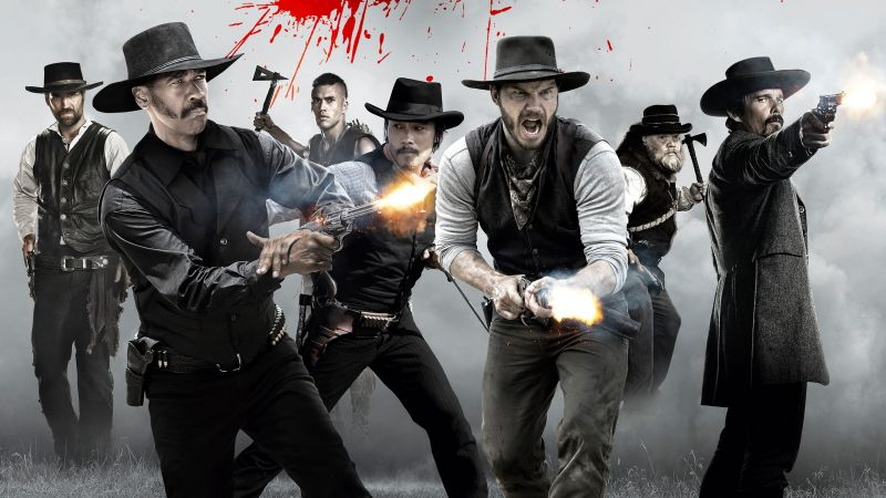 The Magnificent Seven, Denzel Washington, Chris Pratt, Ethan Hawke
