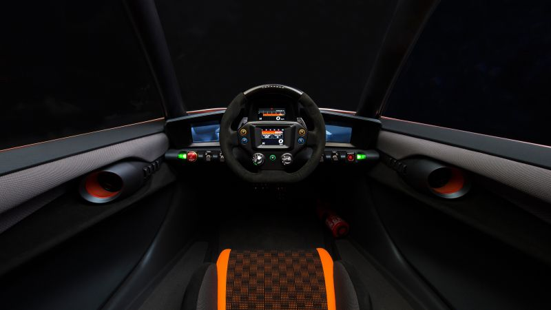 Nissan BladeGlider, supercar, electric cars, electric, interior