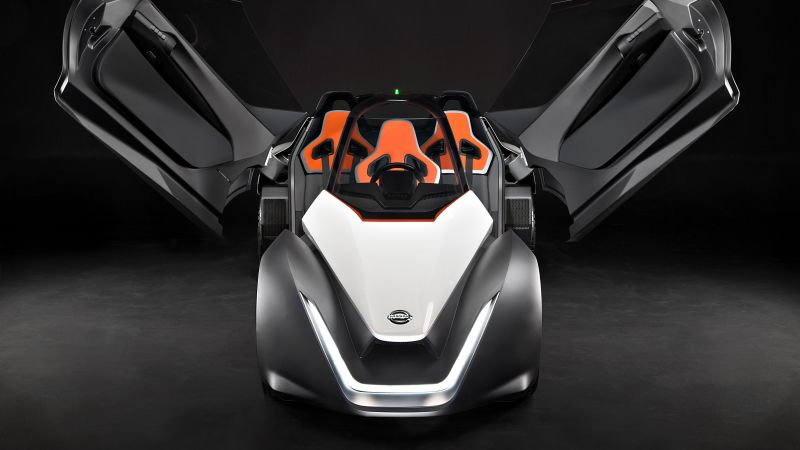 Nissan BladeGlider, supercar, electric cars, electric