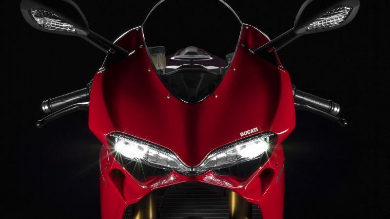 Ducati 1299 Panigale S, speedbike, superbike, red, best bikes