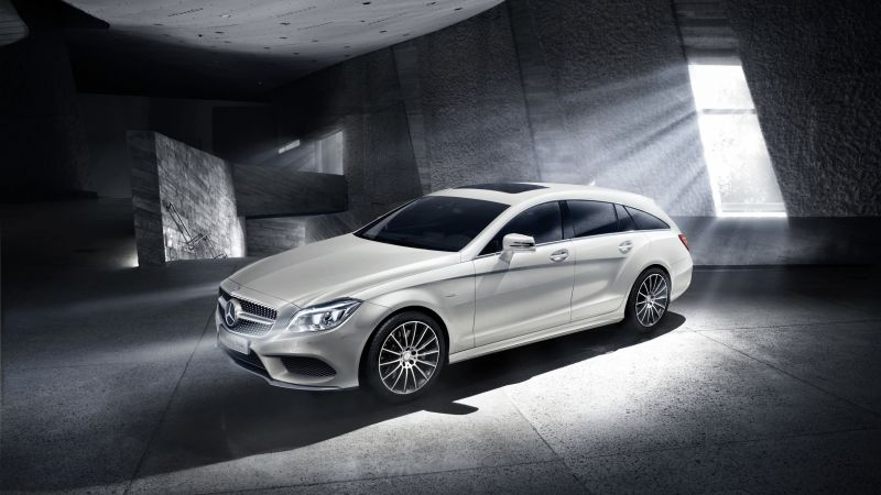 Mercedes-Benz, CLS Klasse, Shooting Brake, Final Edition, luxury cars, white