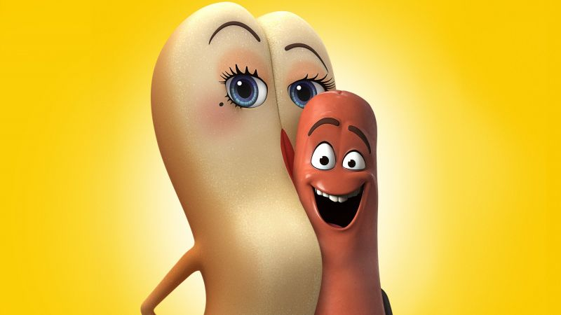 Sausage Party, smile, best animation movies of 2016 (horizontal)