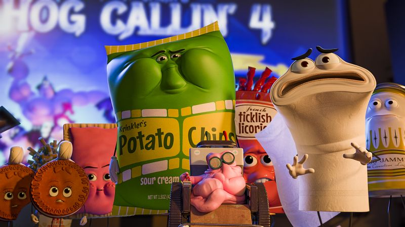 Sausage Party, best animation movies of 2016 (horizontal)