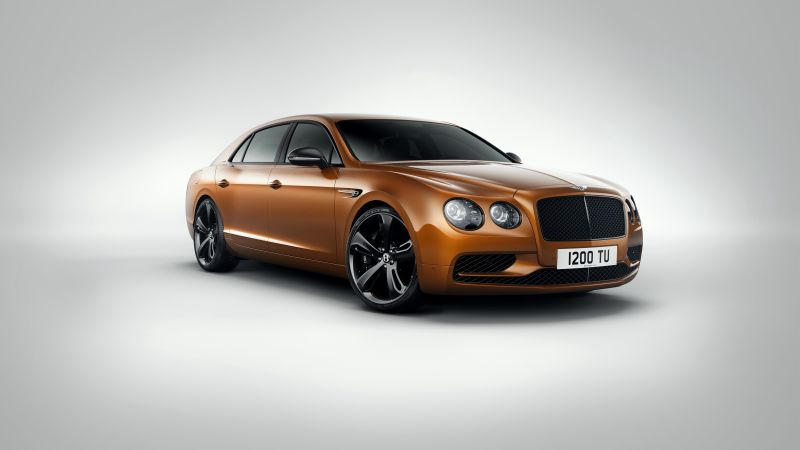 BENTLEY FLYING SPUR W12 S, paris auto show 2016, luxury cars
