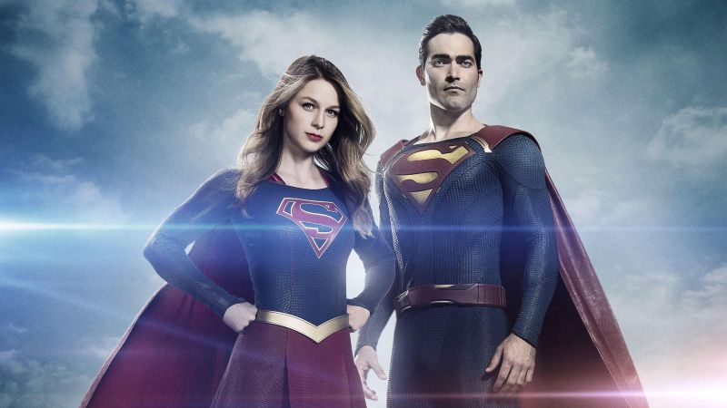 Supergirl, superman, Melissa Benoist, Best TV Series (horizontal)