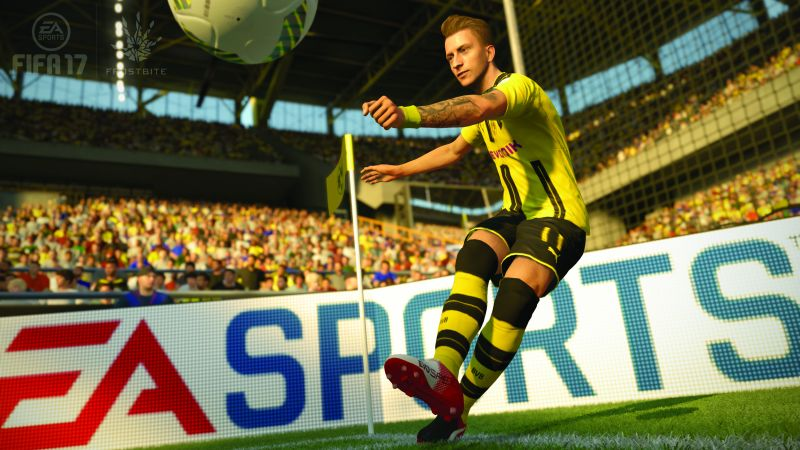 FIFA 2017, football, marco reus, PS4, PS3, Xbox One, pc