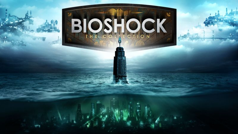 BioShock: The Collection, daddy, girl, best games (horizontal)