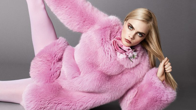Cara Delevingne, Top Fashion Models, model, actress (horizontal)