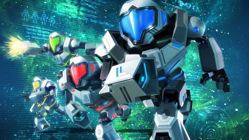 Metroid Prime: Federation Force, space, shooter, best games (horizontal)