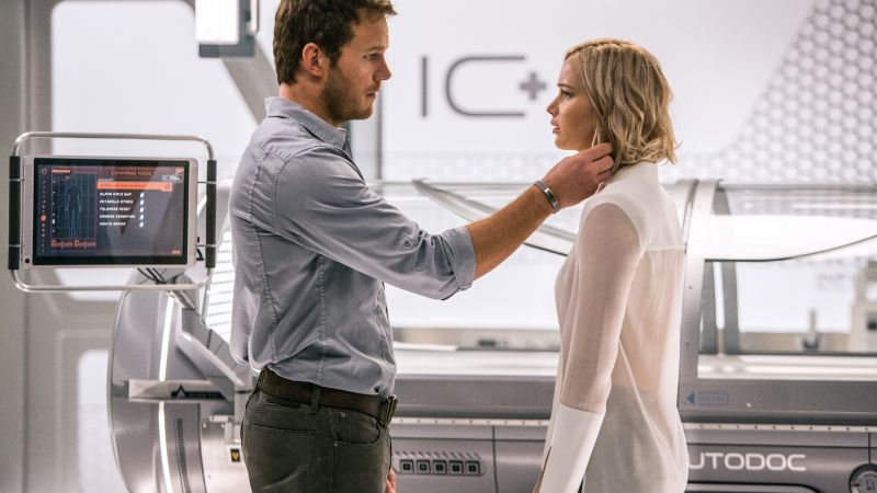 Passengers, Jennifer Lawrence, Chris Pratt, best movies (horizontal)