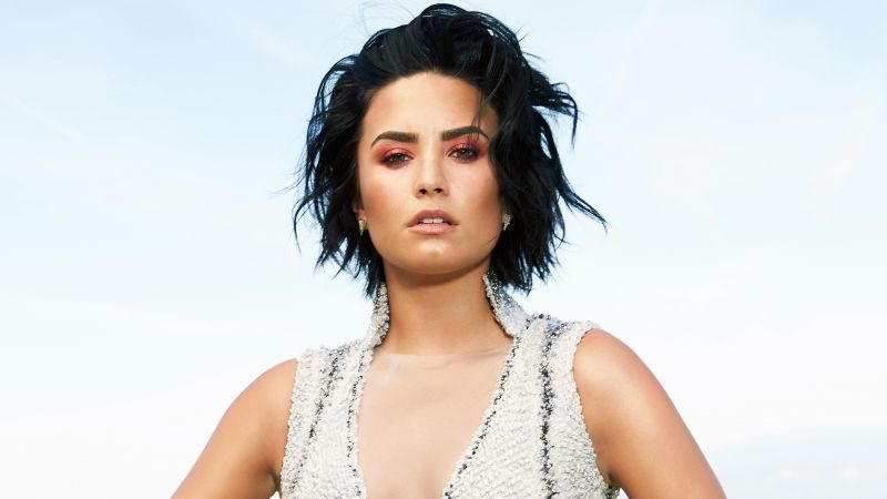 Demi Lovato, Top music artist and bands, brunette (horizontal)