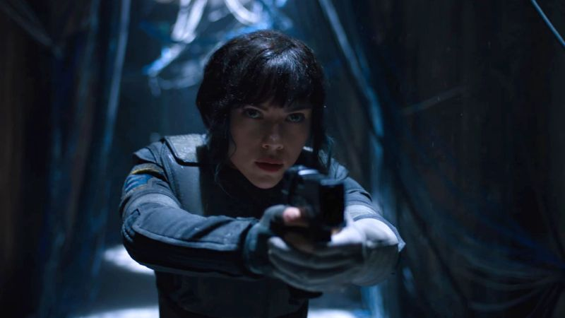 Ghost in the Shell, Scarlett Johansson, best movies (horizontal)