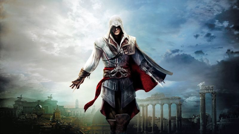 Assassin's Creed The Ezio Collection, PlayStation 3, PlayStation 4, Xbox 360, Xbox One, Microsoft Windows, OS X (horizontal)