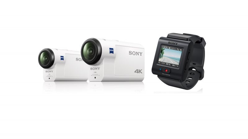 Sony HDR-AS300, FDR-X3000, review, IFA 2016, Action-cam, 4k