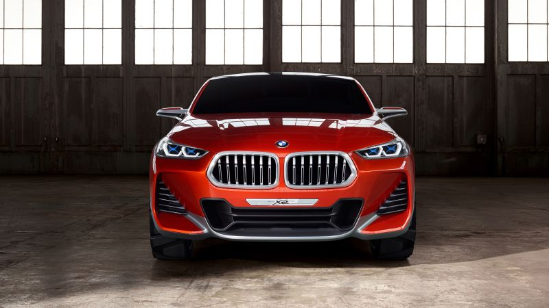 BMW X2, paris auto show 2016, crossover