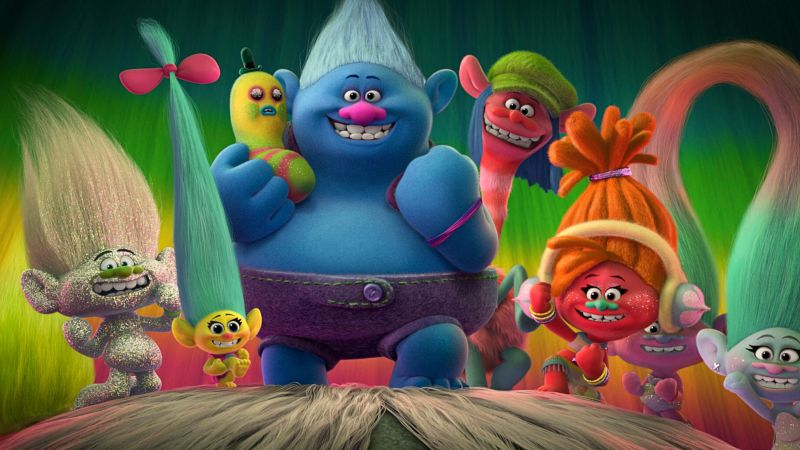Trolls, best Animation movies of 2016