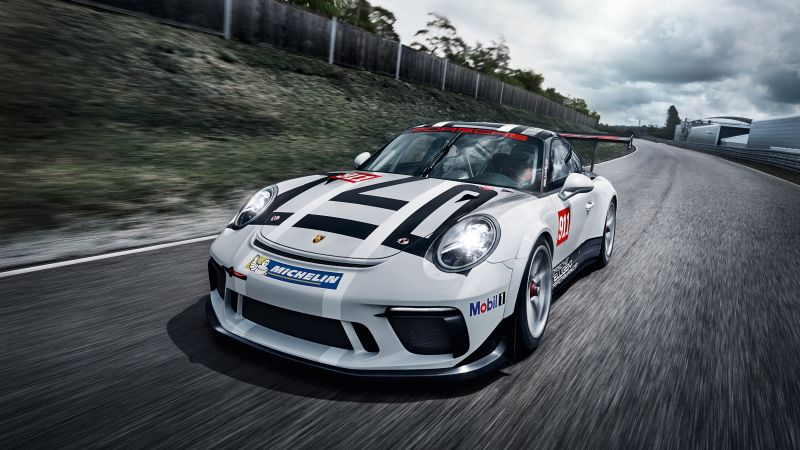 Porsche 911 GT3 Cup, racing, paris auto show 2016 (horizontal)