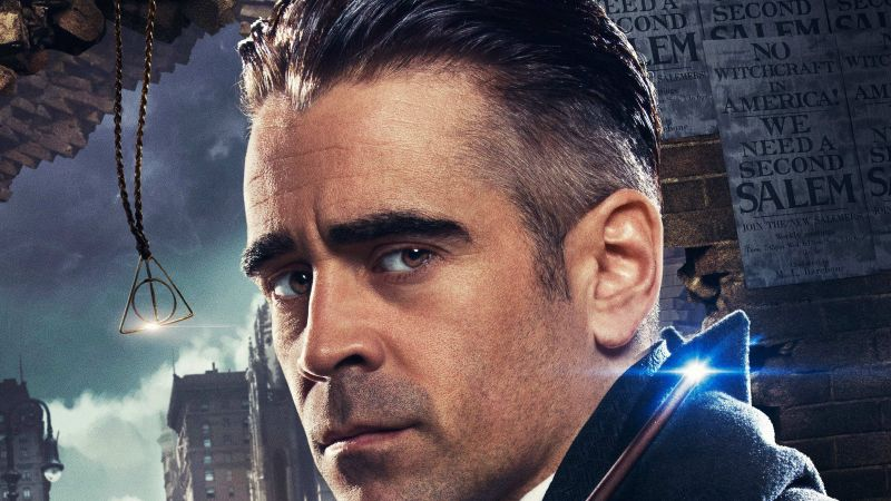 Fantastic Beasts And Where To Find Them, Colin Farrell, Best Movies (horizontal)