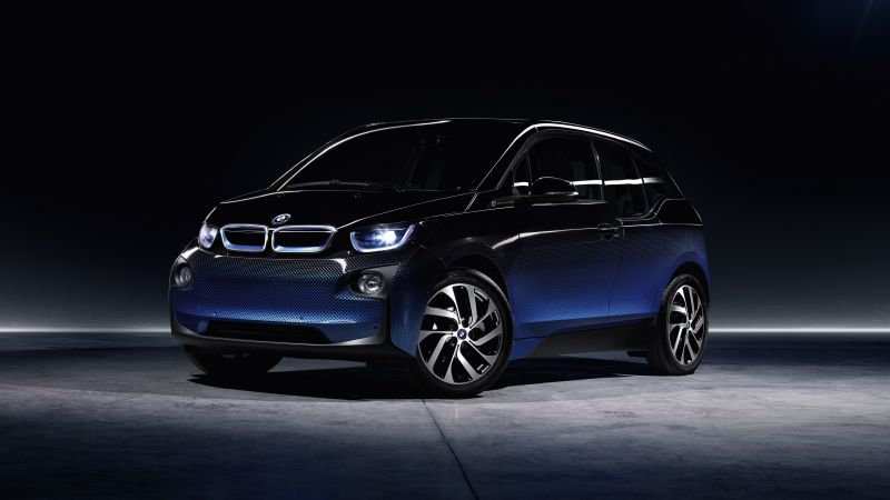 BMW i3 Garage Italia, electric cars, paris auto show 20166 (horizontal)