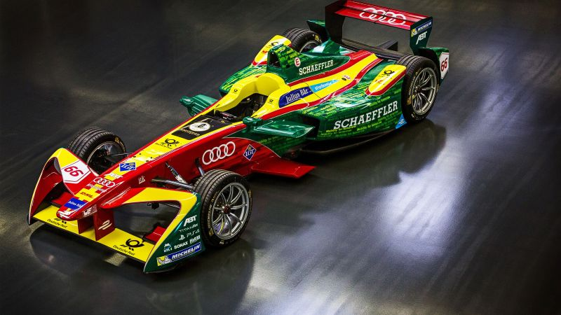 ABT Schaeffler FE02, formula E, racing, speed (horizontal)