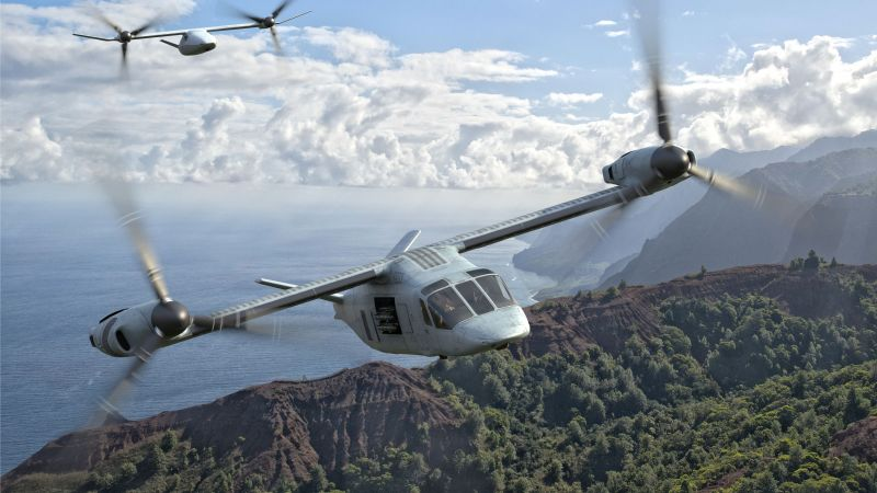 Bell V-247 Vigilant, tiltrotor military aircraft, U.S. Air Force