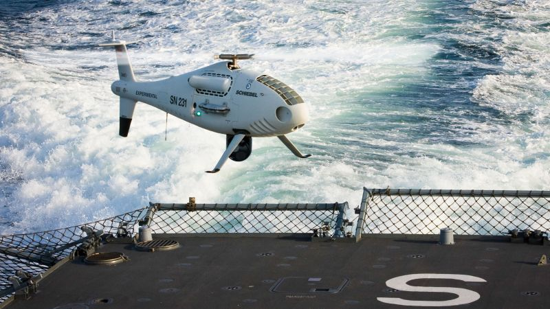 S-100 Camcopter, drone, UAV, unmanned warrior 2016, UAE Air Force