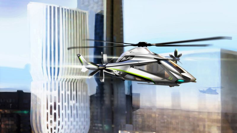 Clean Sky 2, Helicopter, speed, concept (horizontal)