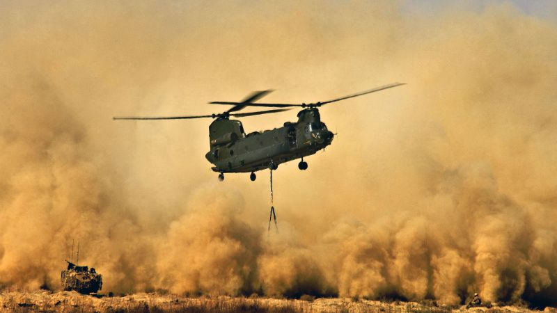 Boeing CH-47 Chinook, helicopter, U.S. Air Force