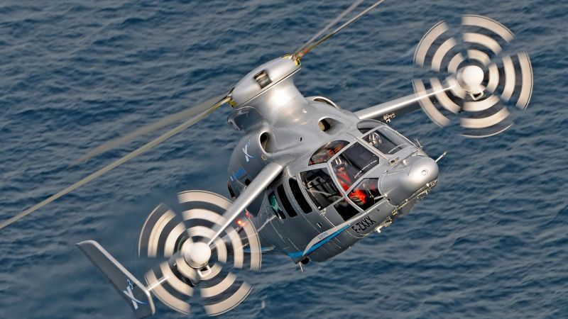 Eurocopter X3, Helicopter, speed, hybrid (horizontal)