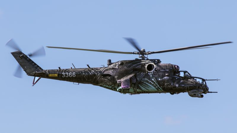 MI-24, Russian army, fighter helicopter, Russian air force (horizontal)