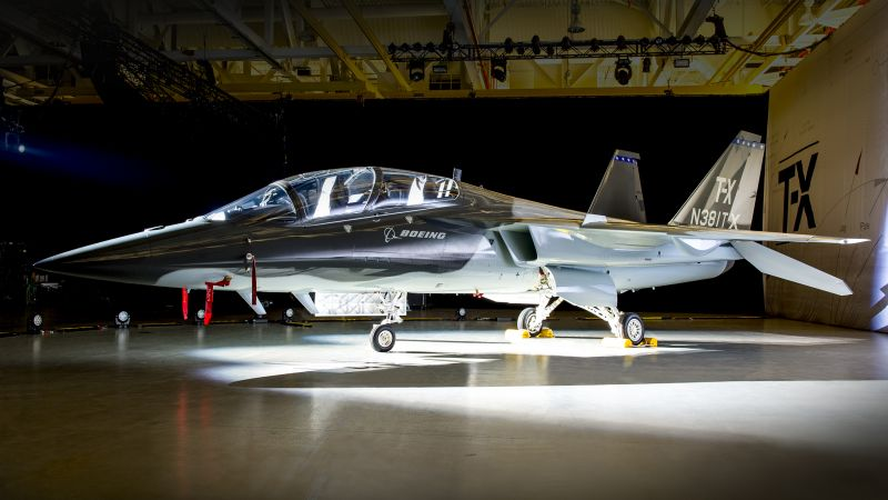 Boeing TX, fighter aircraft, U.S. Airforce