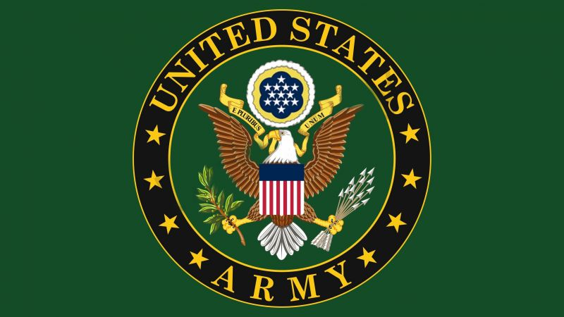 U.S. Army, logo, eagle (horizontal)