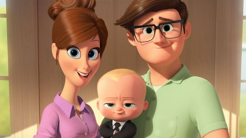 The Boss Baby, Baby, family, best animation movies (horizontal)