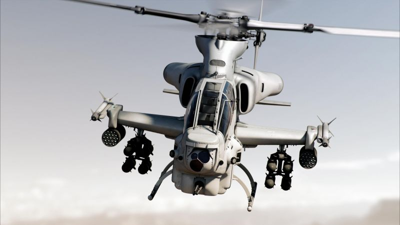 Bell AH-1Z Viper, attack helicopter, U.S. Army, U.S. Air Force, Zulu Cobra (horizontal)