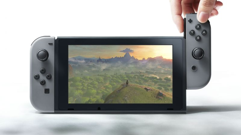 Nintendo Switch, review, Console (horizontal)