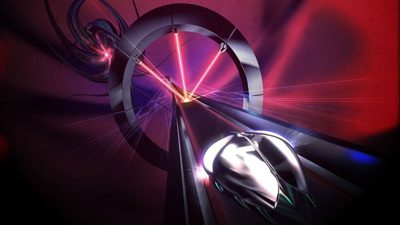 Thumper, Rhythm Hell, VR, PS VR, PS4 (horizontal)
