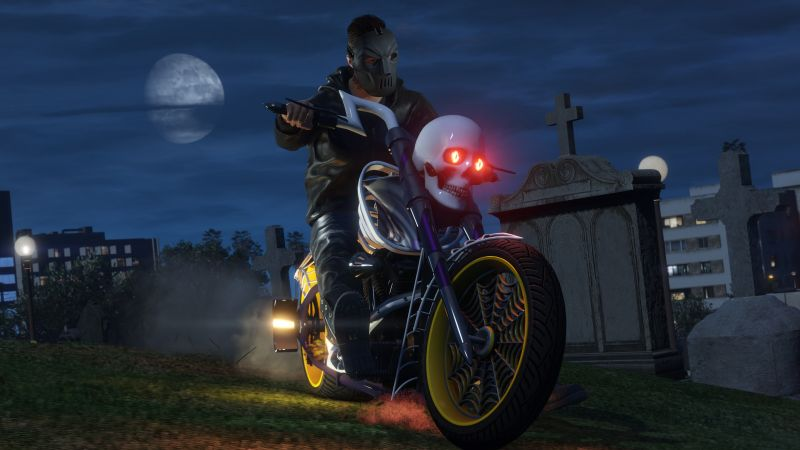 GTA 5 Online Halloween DLC, gta 5, best games