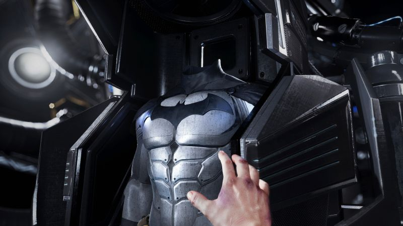 Batman: Arkham VR, suit, PS VR, PS4 (horizontal)
