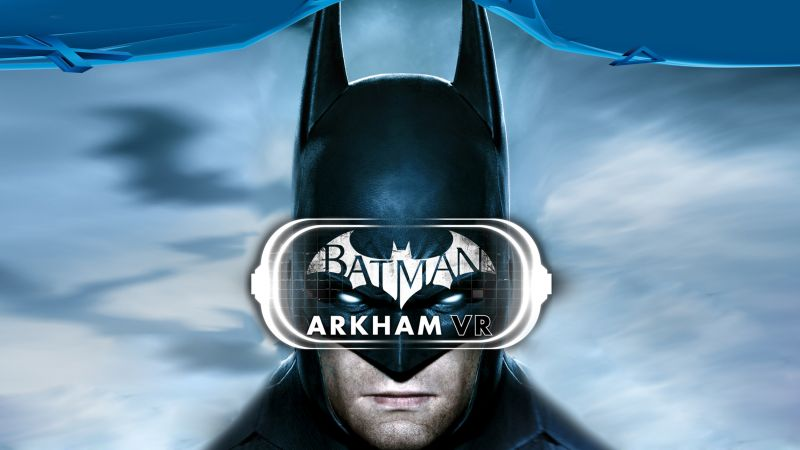 Batman: Arkham VR, PS VR, PS4 (horizontal)