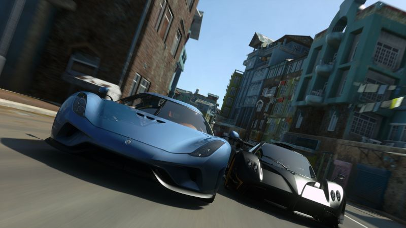 Driveclub VR, PS VR, PS4 (horizontal)