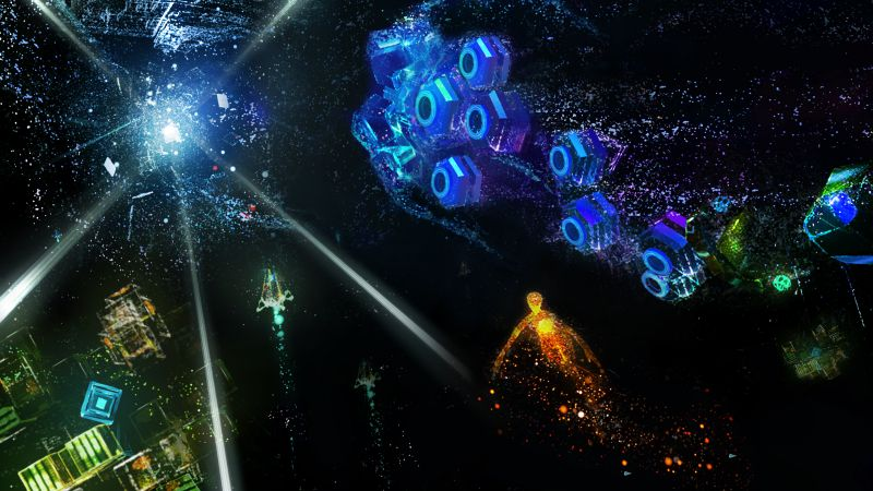 Rez Infinite: Area X, VR, PS VR, PS4 (horizontal)