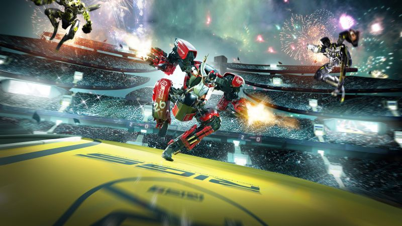 RIGS: Mechanized Combat League, VR, PS VR, PS4