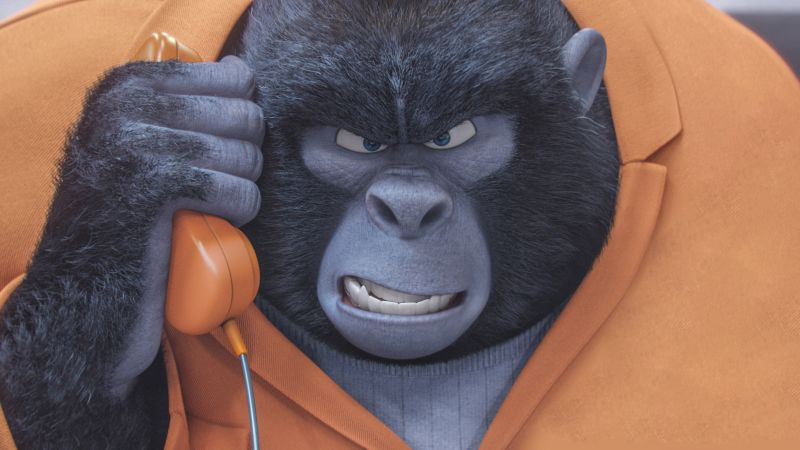 Sing, gorilla, best animation movies of 2016